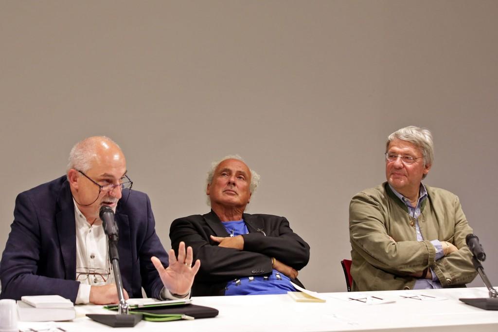Michele Smargiassi nell'omaggio a Roberto Roversi - Poesia Festival '14 :: photo Serena Campanini-Elisabetta Baracchi - domenica 28 settembre 2014