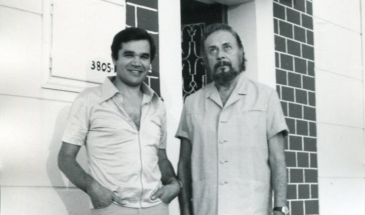 Nicola Crocetti con Ghiannis Ritsos