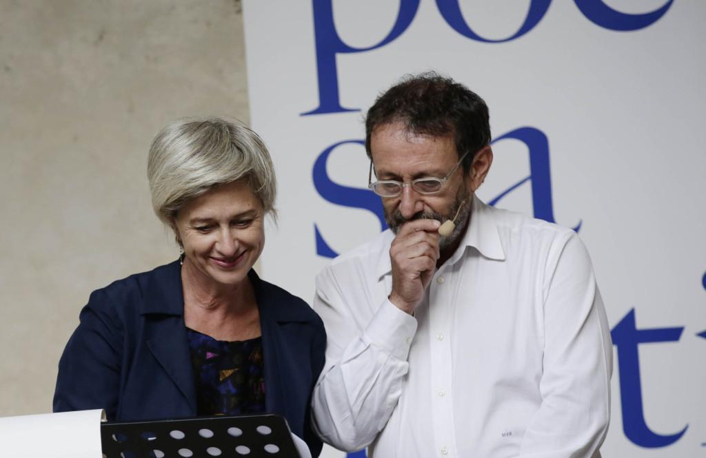 Giovanna Zucconi e Michele Serra - domenica 27 settembre 2015