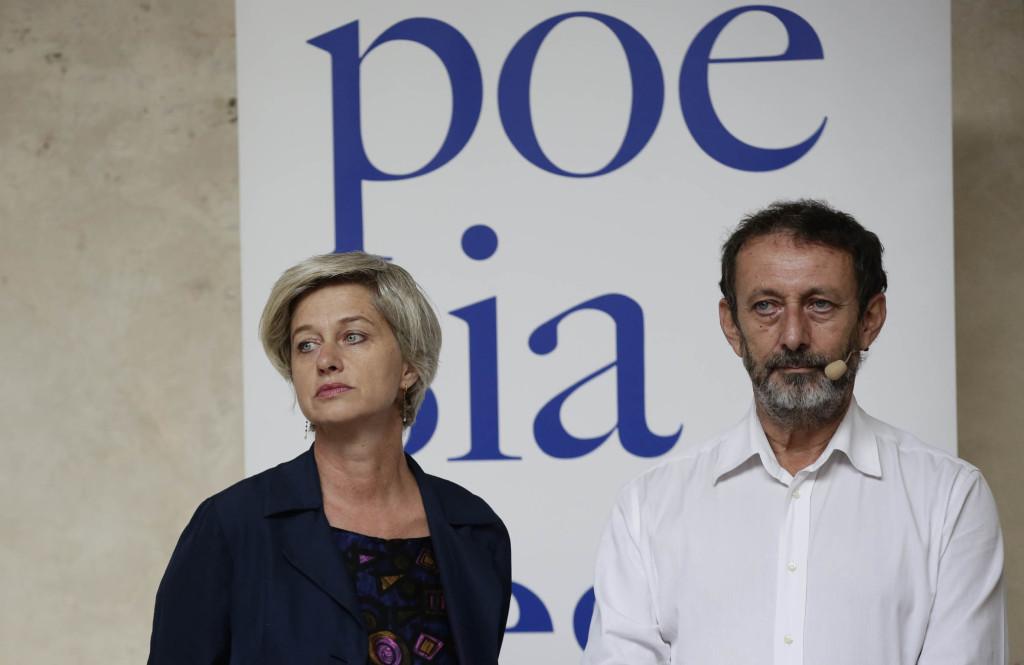 Giovanna Zucconi e Michele Serra