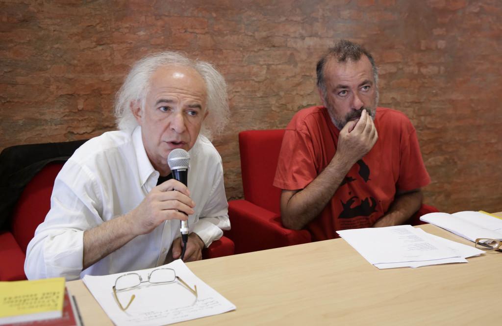 Roberto Alperoli e Franco Arminio