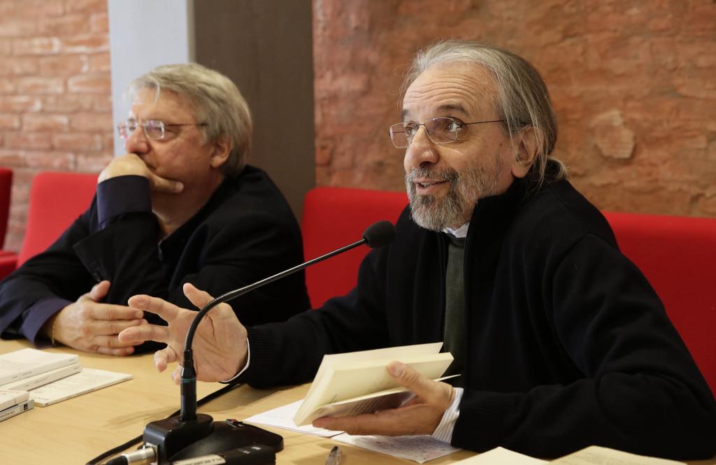 Alberto Bertoni e Cesare Viviani