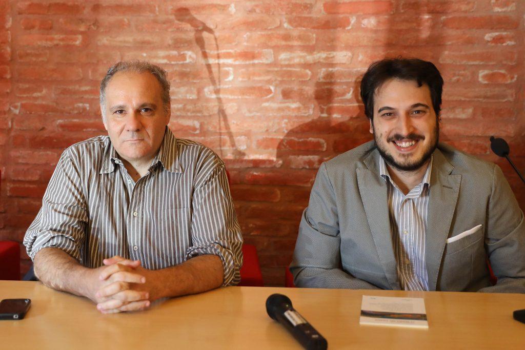 Andrea Gibellini e Marco Bini