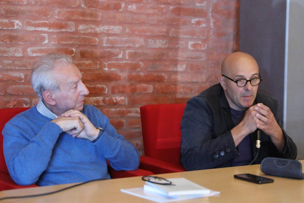 Elio Pecora e Paolo Donini