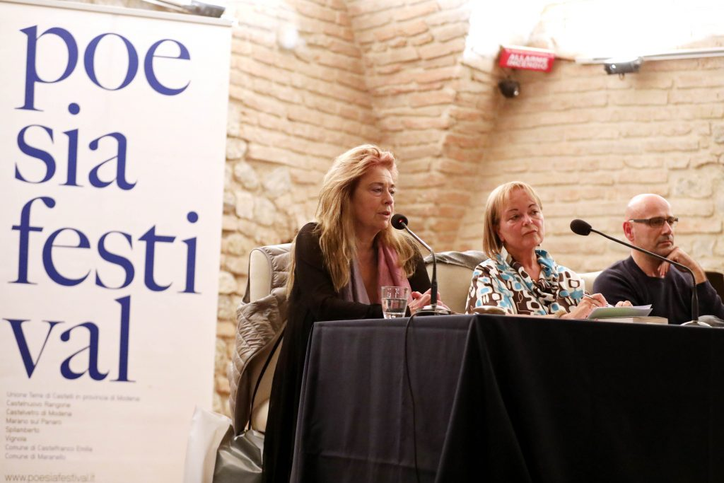 Jorie Graham, Antonella Francini e Roberto Galaverni
