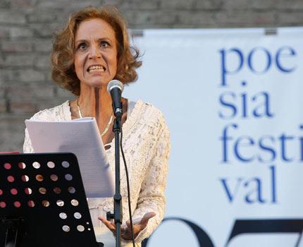 lucia poli poesia festival 2007 - domenica 30 settembre 2007