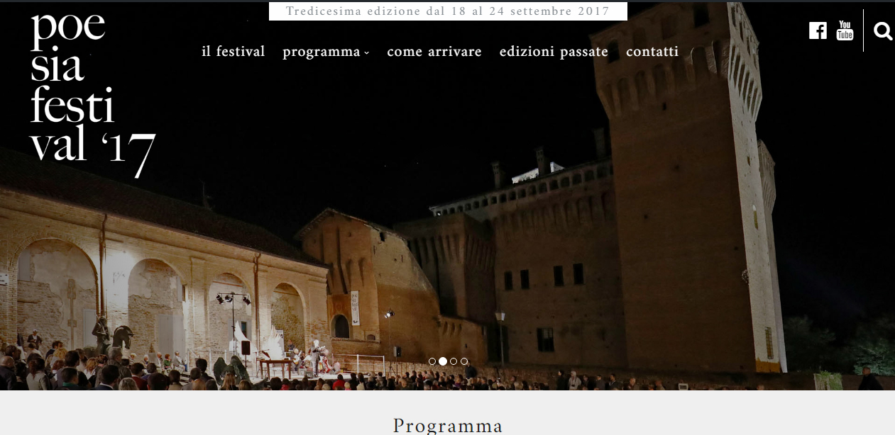 nuovo sito poesia festival 2017
