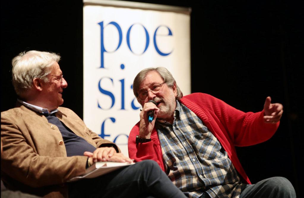 Alberto Bertoni e Francesco Guccini - photo © Elisabetta Baracchi