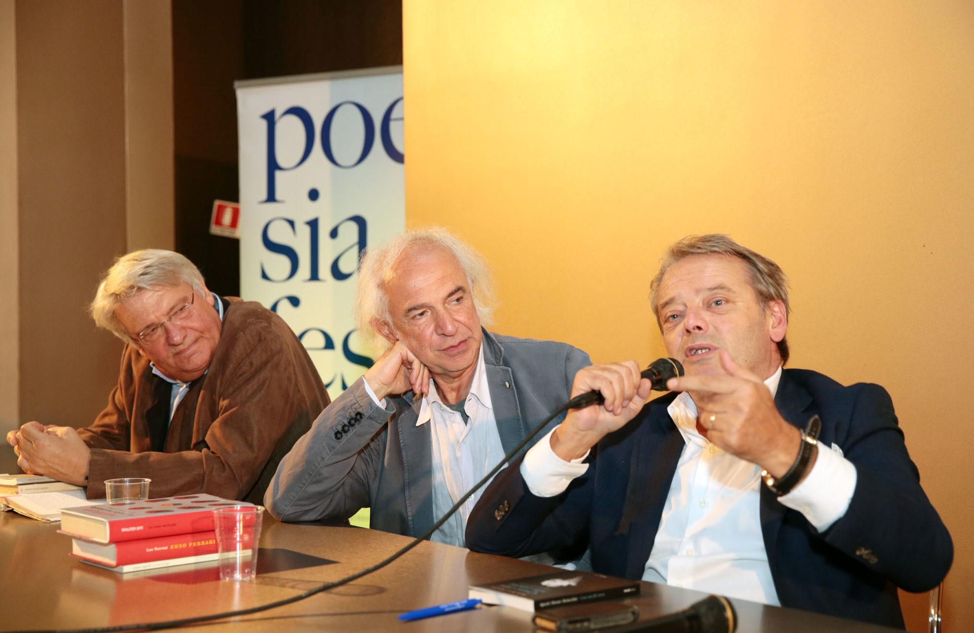 Alberto Bertoni, Roberto Alperoli e Leo Turrini - photo © Serena Campanini