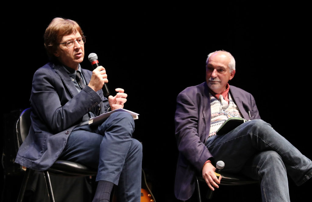 Antonio Taormina e Michele Smargiassi a Poesia Festival '17 - photo © Serena Campanini