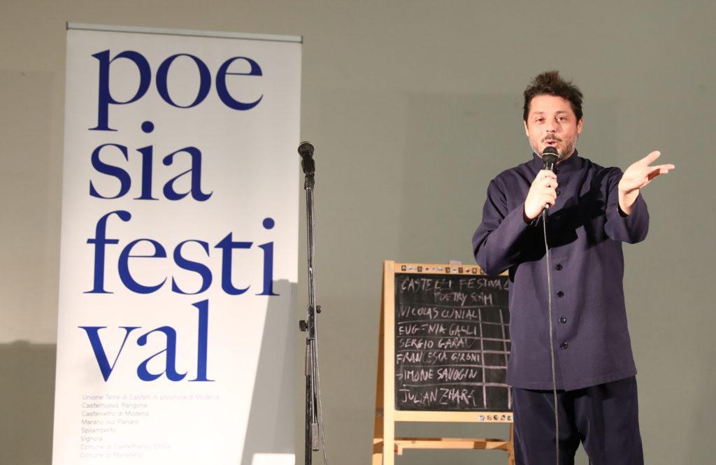 Dome Bulfaro Castelli poetry Slam - Poesia Festival 2017 photo © Serena Campanini