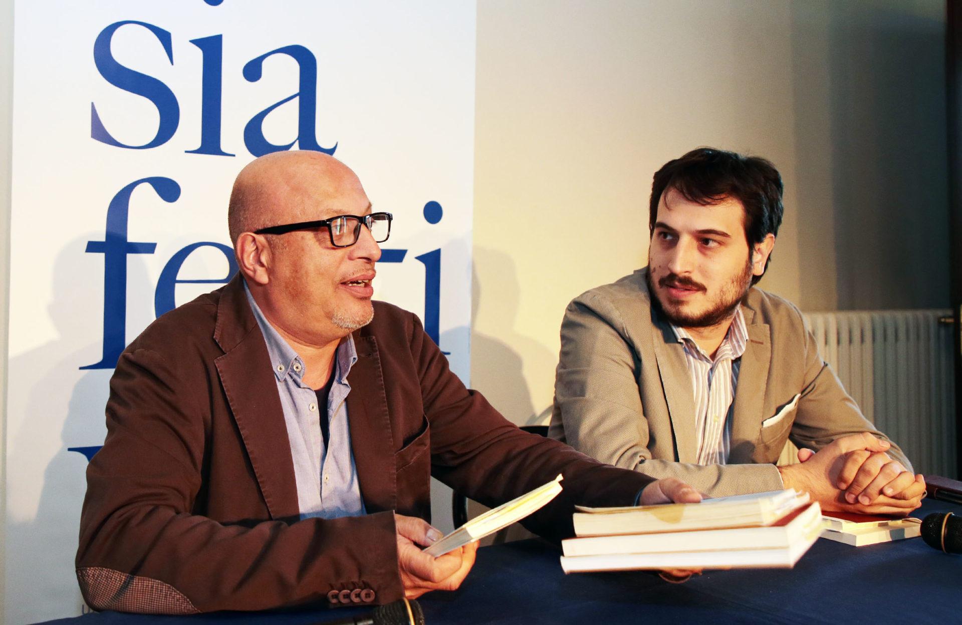 Fabio Franzin e Marco Bini a Poesia Festival '17 - photo © Elisabetta Baracchi