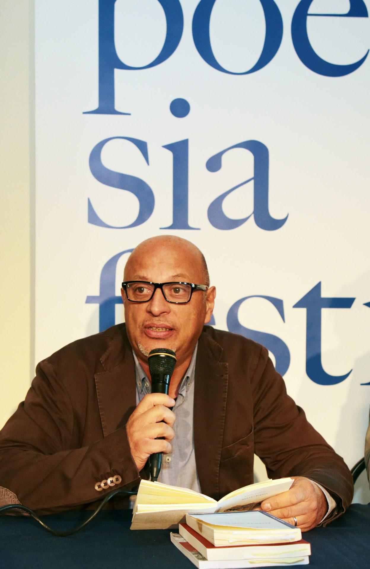 Fabio Franzin a Poesia Festival '17 - photo © Elisabetta Baracchi