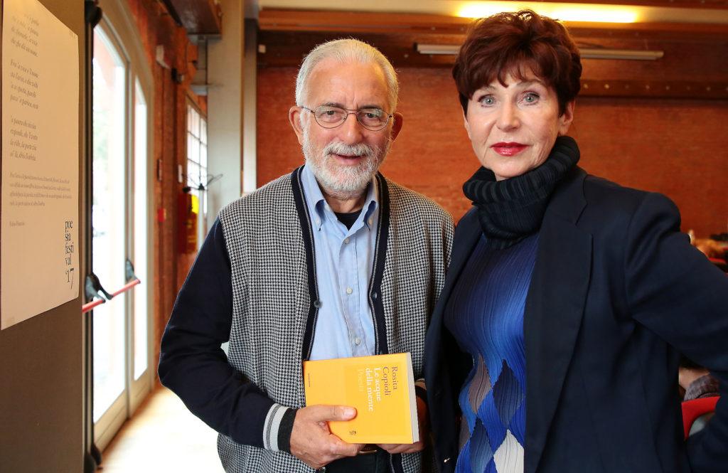 Francesco Scarabicchi e Rosita Copioli - Poesia Festival '17 photo © Elisabetta Baracchi