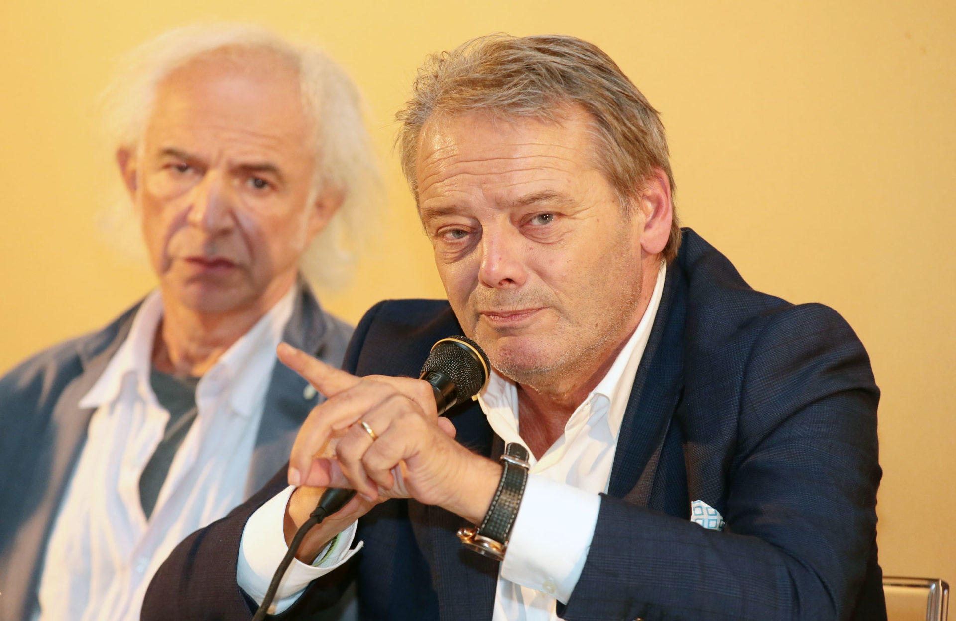 Leo Turrini e Roberto Alperoli - photo © Serena Campanini