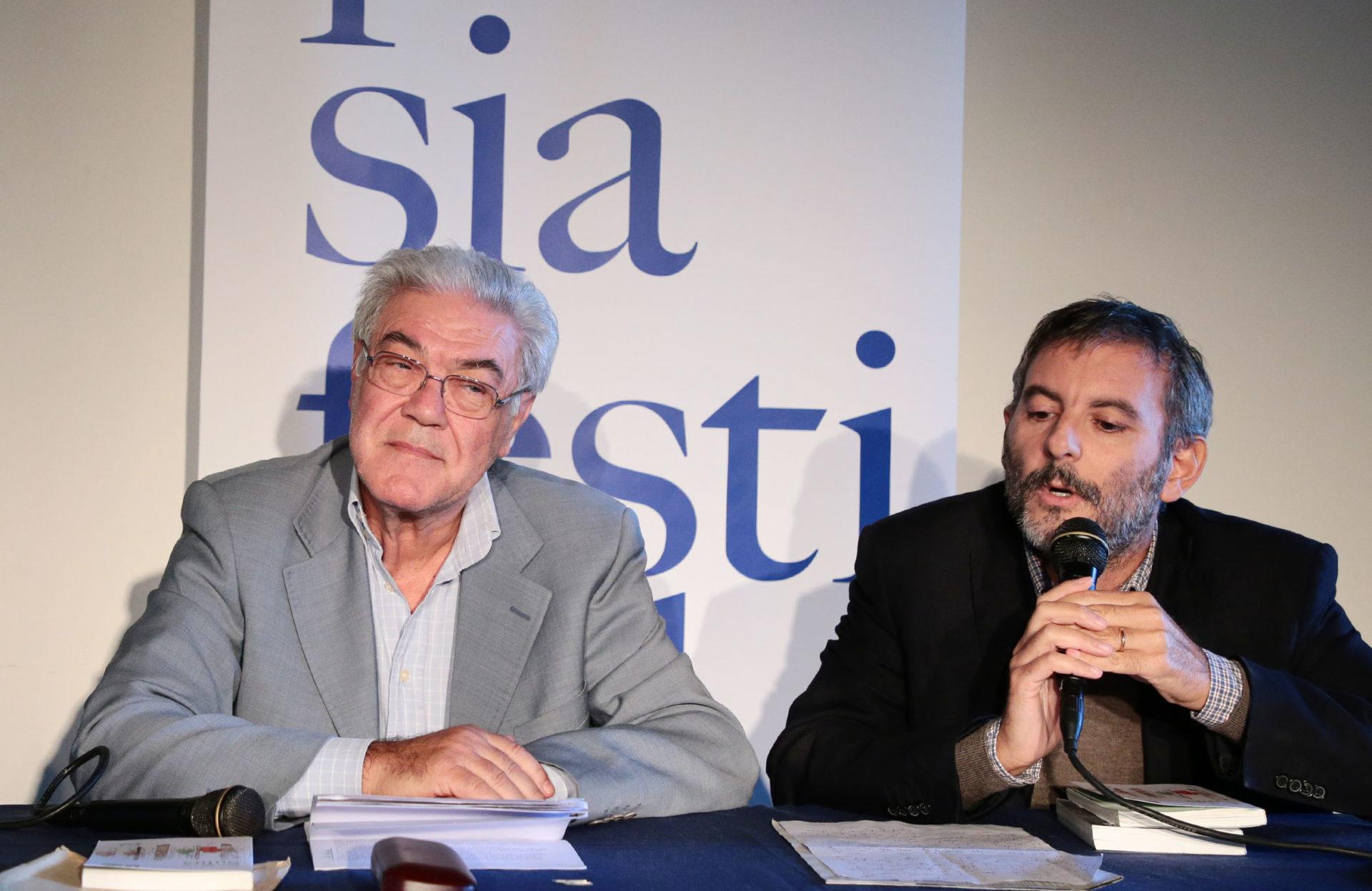 Nino De Vita e Guido Monti a Poesia Festival '17 - photo © Elisabetta Baracchi
