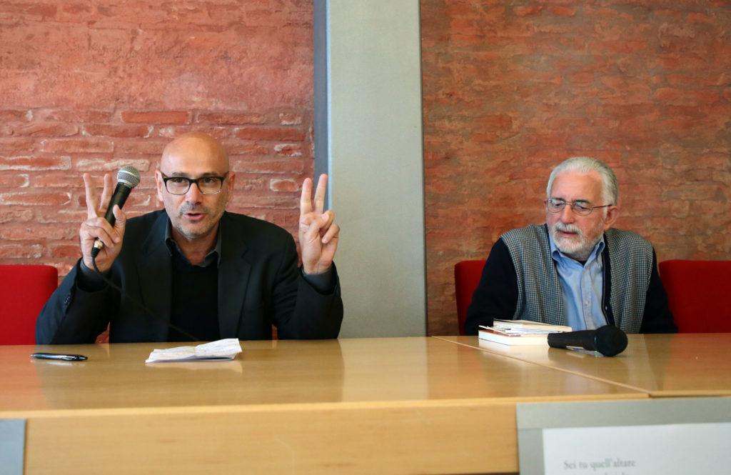 Roberto Galaverni e Francesco Scarabicchi - Poesia Festival '17 photo © Elisabetta Baracchi