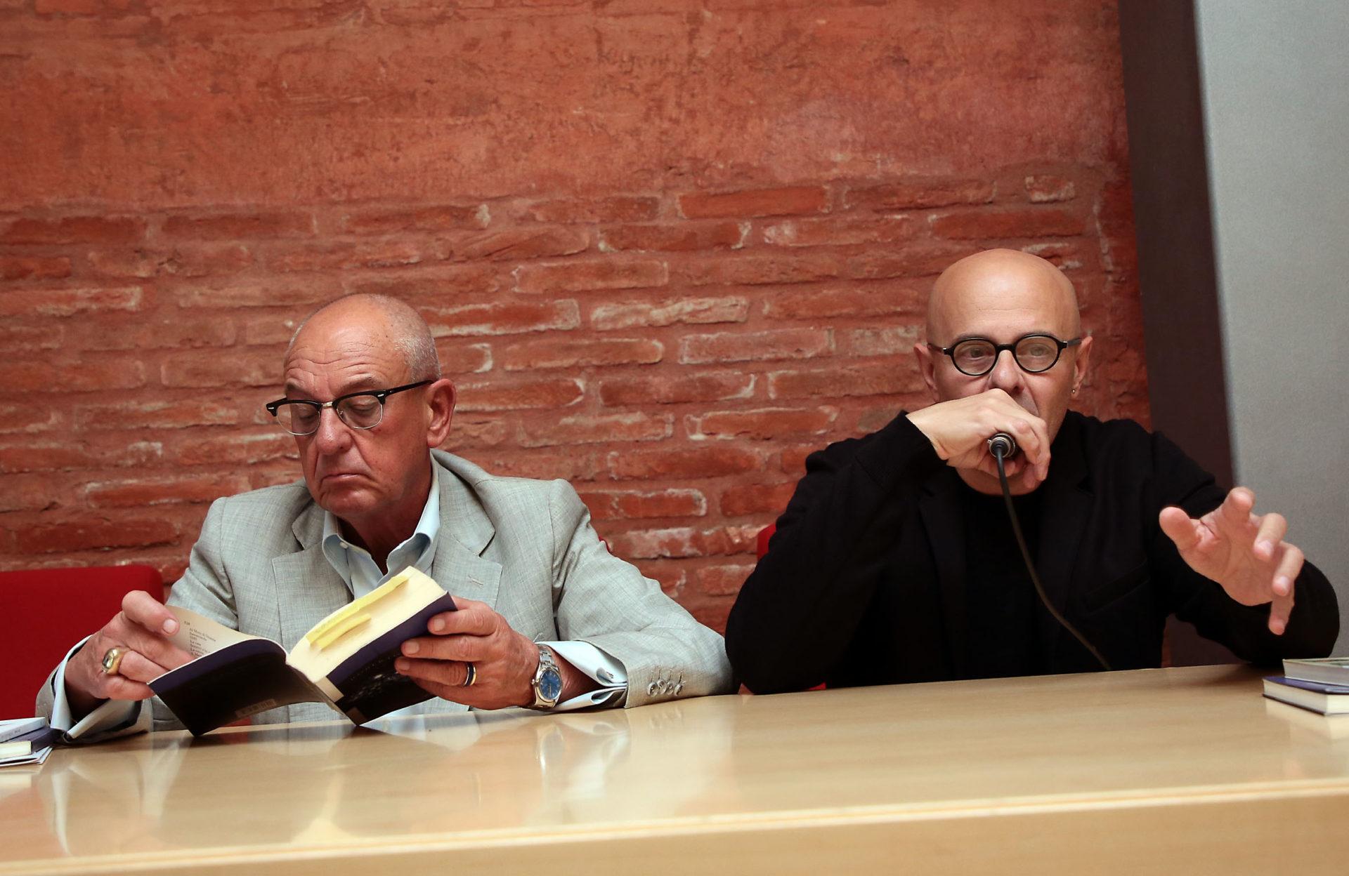 Roberto Mussapi e Paolo Donini - Poesia Festival '17 photo © Elisabetta Baracchi