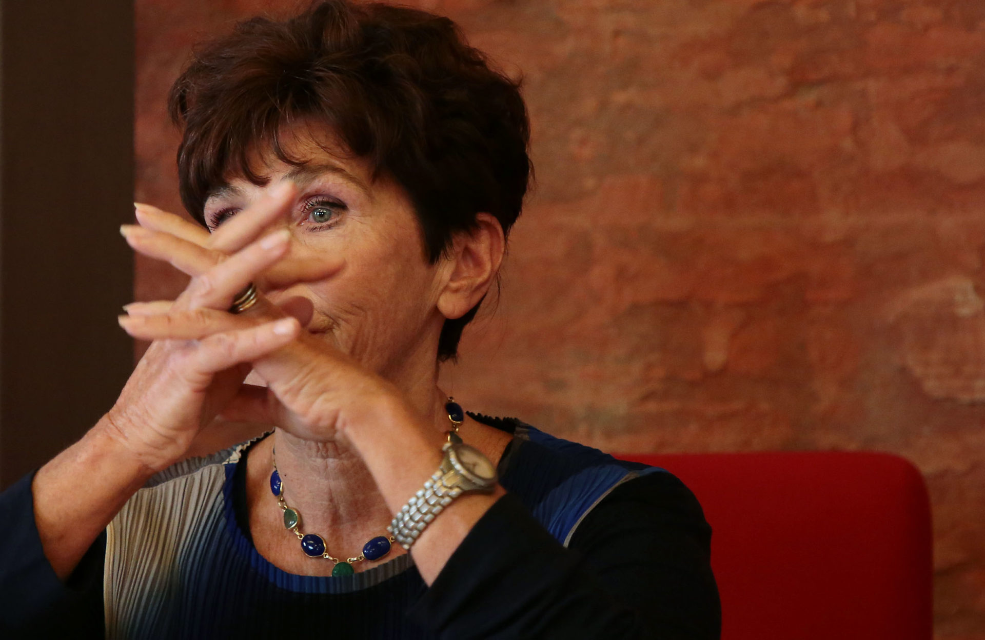 Rosita Copioli - Poesia Festival 17 photo © Elisabetta Baracchi
