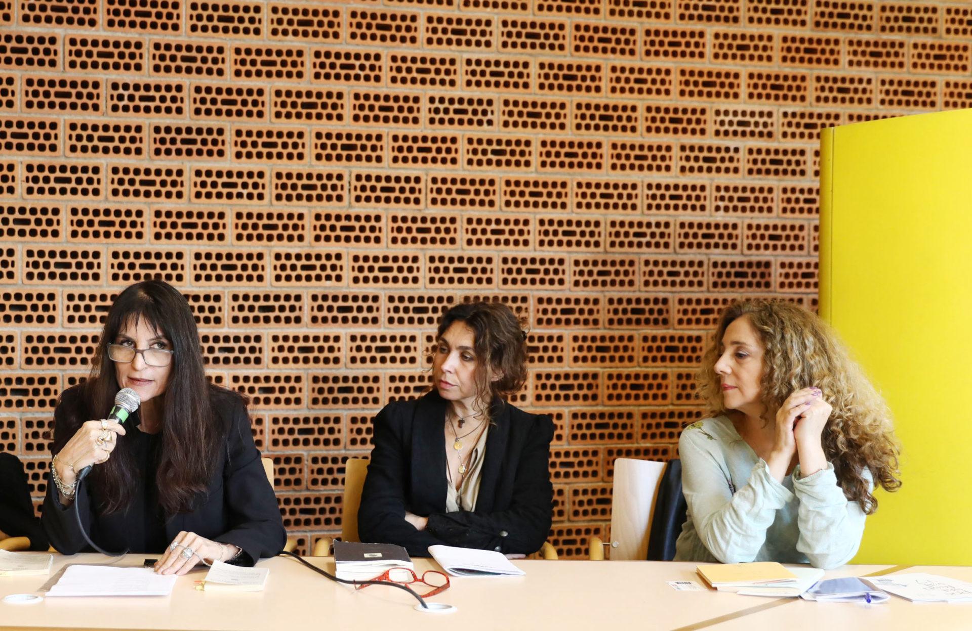 Tre autrici della poesia italiana a Poesia Festival '17 - photo © S.Campanini