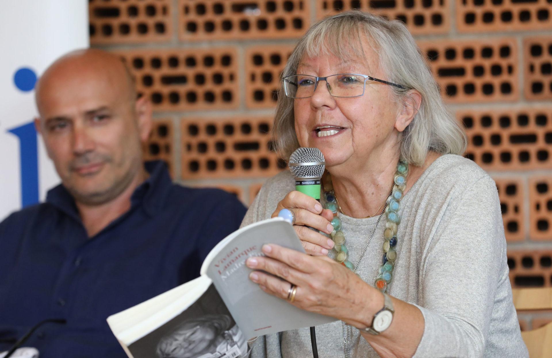 Vivian Lamarque a Poesia Festival '17 - photo © S.Campanini