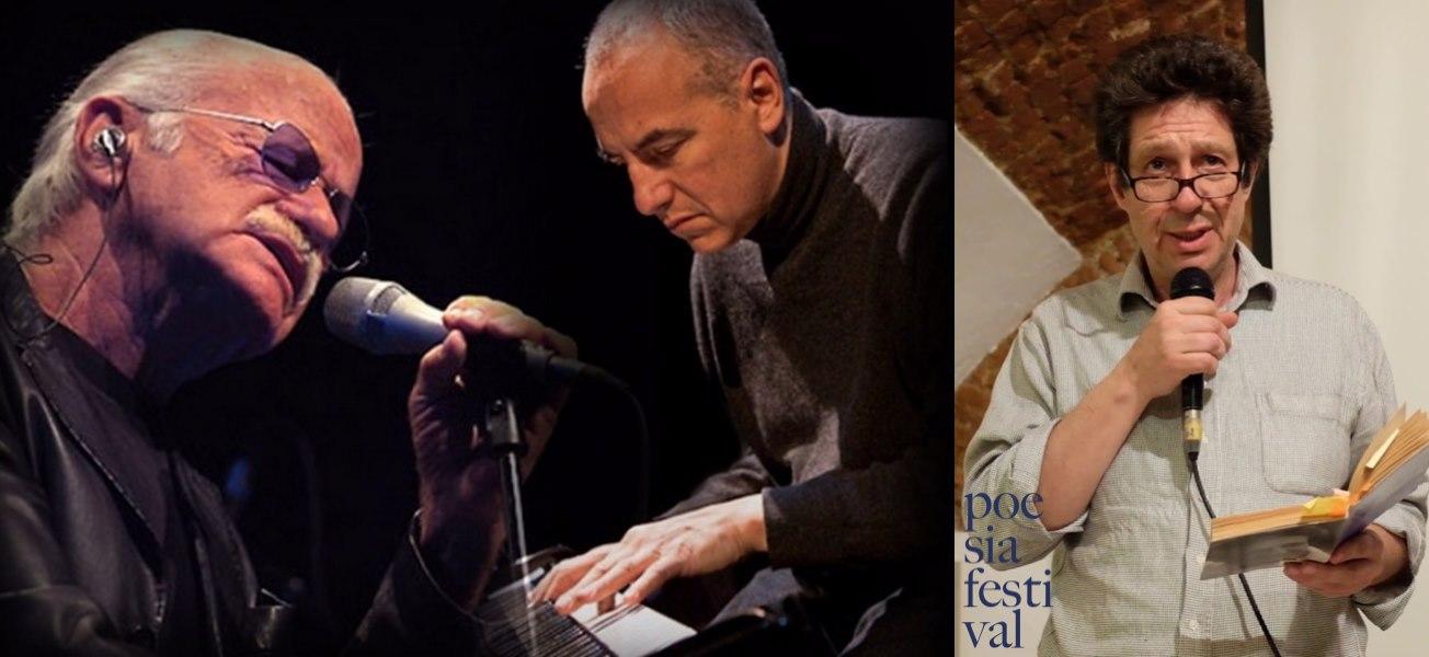 stefano dal bianco gino paoli danilo rea inaugurazione poesia festival '19